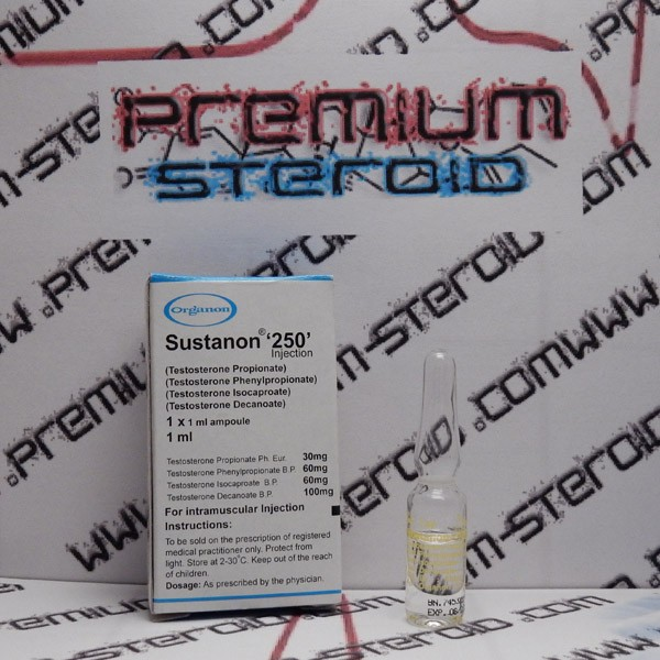 Sustanon 250 Organon, 250 mg / vial