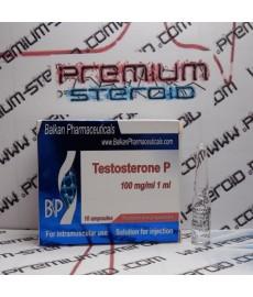 Testosterona P, Testosteronpropionat, Balkan Pharmaceuticals