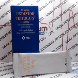 Undestor Testocaps, Testosterone Undecanoate, Organon